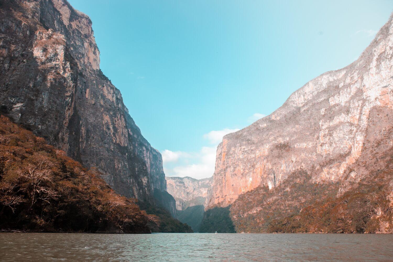 Titelbild Canyon del Sumidero in Chiapas
