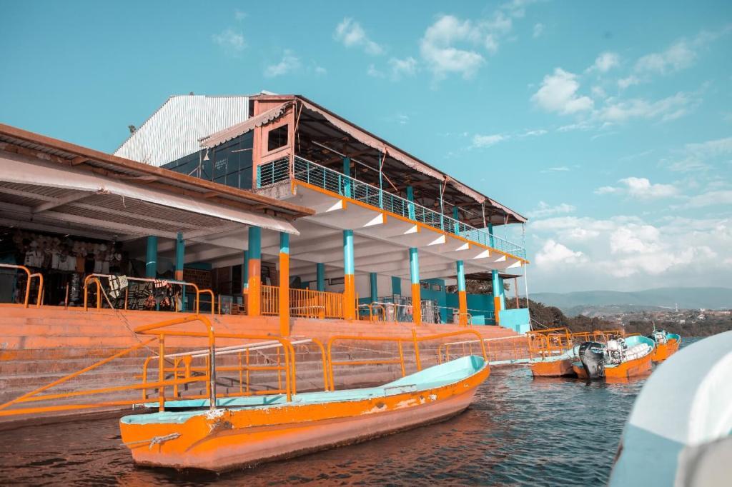 Canyon del Sumidero in Chiapas Hafen