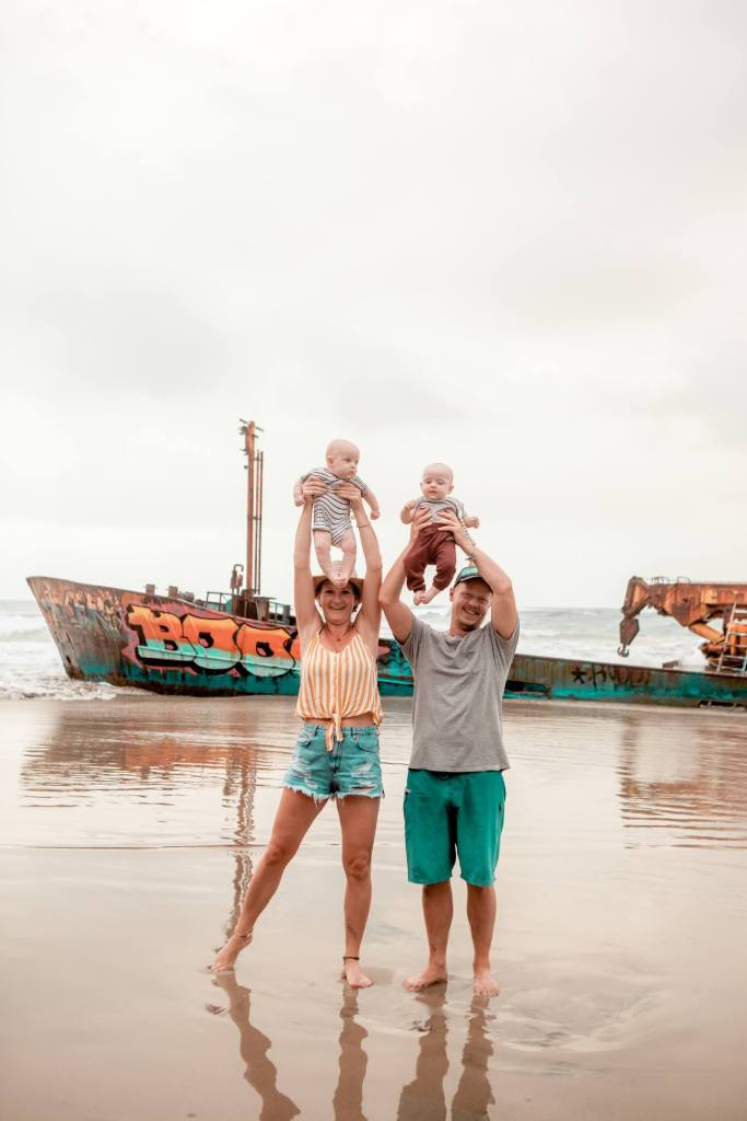 Familienfoto Playa Manzanillo