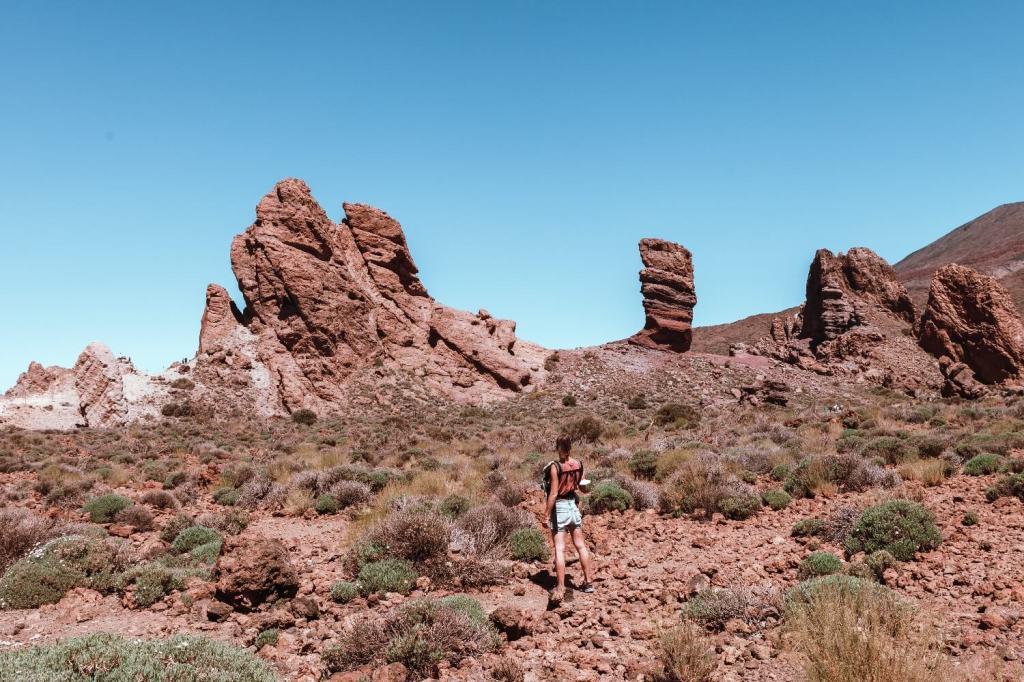 Durchquerung El Teide Nationalpark Teneriffav