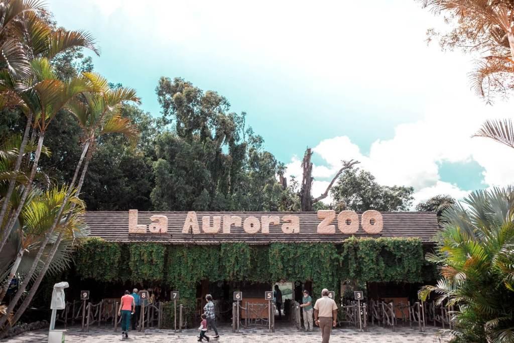 Eingang La Aurora Zoo Guatemala City