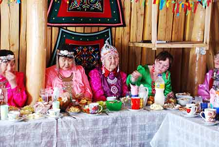 traditional party in Oymyakon