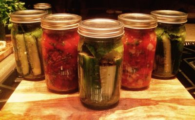 Pickles(center) Salsa