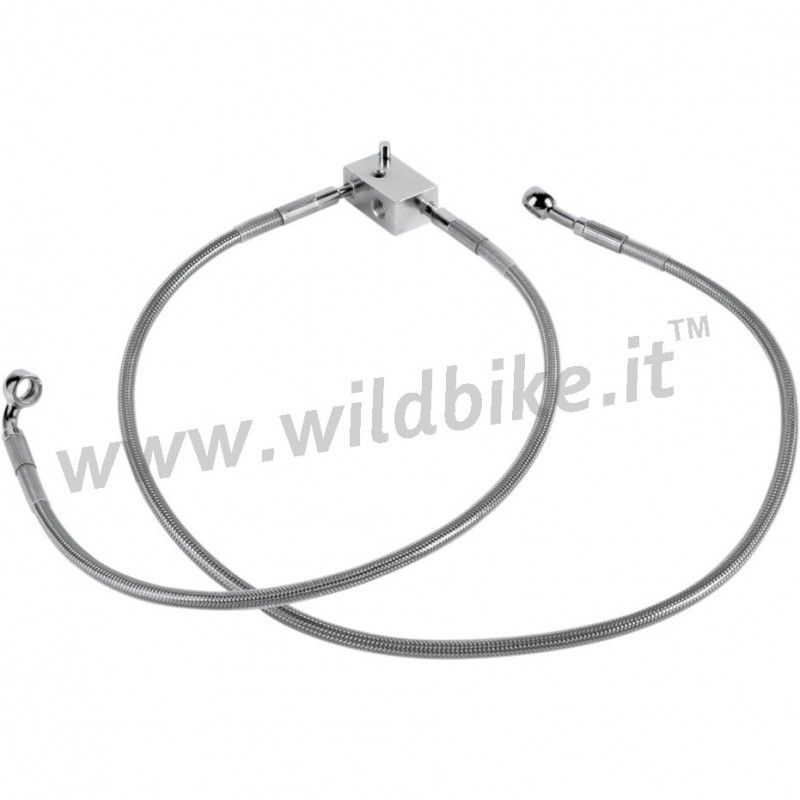 CABLE STANDARD STAINLESS STEEL LINE KITS REAR BRAKE 44803
