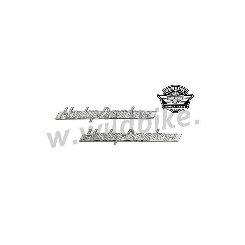 EMBLÈMES LETTRAGE CHROME GAZ RESERVOIR 61774-51T HARLEY