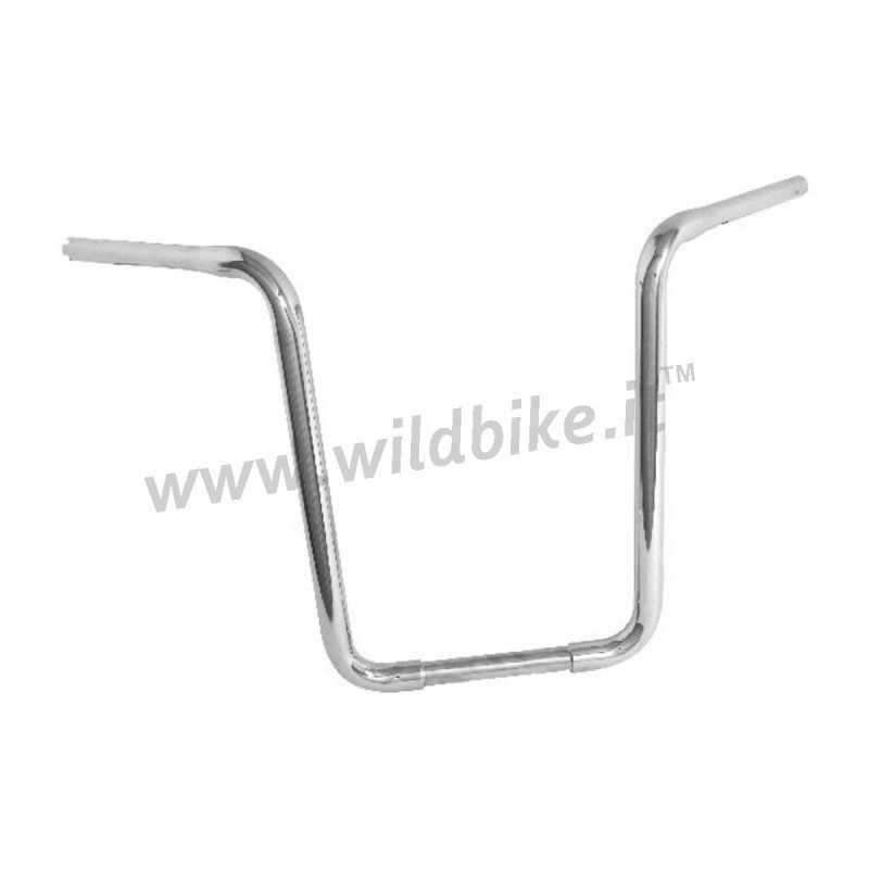 HANDLEBAR HH FAT APE HANGER WIDE CHROME 1