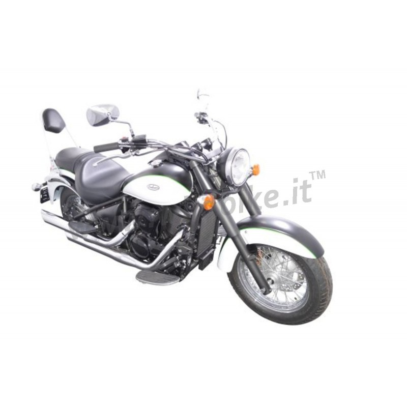 SISSYBAR BACKREST COMFORT WIDE CHROME FOR KAWASAKI VN 900