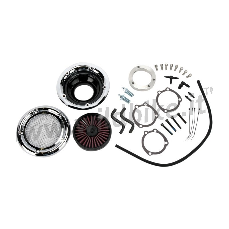 VELOCIRAPTOR AIR FILTER KIT CHROME FOR HARLEY DAVIDSON XL