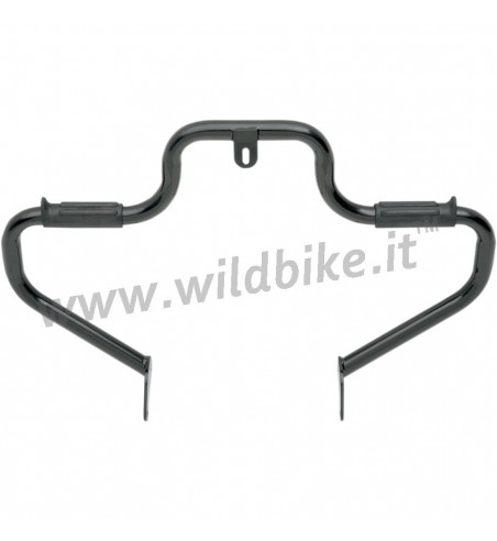 ENGINE GUARD LINDBY MULTIBAR BLACK FOR HARLEY DAVIDSON FXD