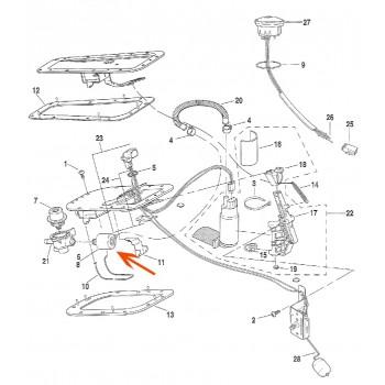 FUEL FILTER KIT OEM 61001-01 FOR HARLEY DAVIDSON TWIN CAM