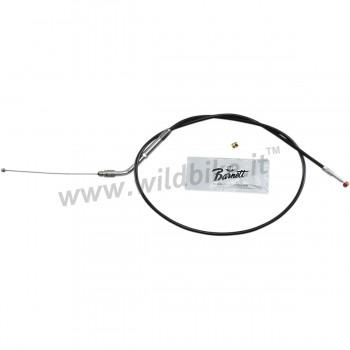 BLACK THROTTLE VINYL CABLE BARNETT 80 CM HD 56884-07