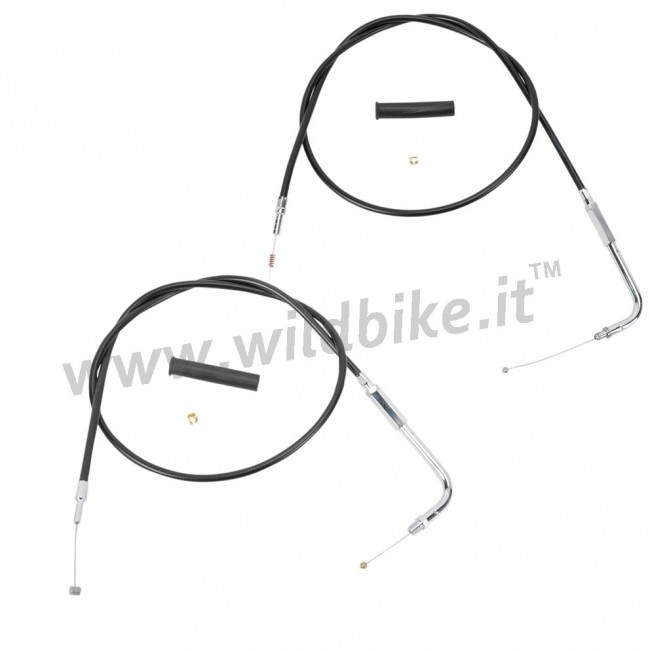 THROTTLE CABLE Stahl AIRCREW für HARLEY XL SPORTSTER ' 96-' 06