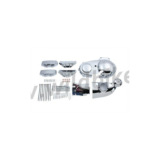 CHROME ENGINE DRESS UP COVER KIT for HARLEY DAVIDSON XL
