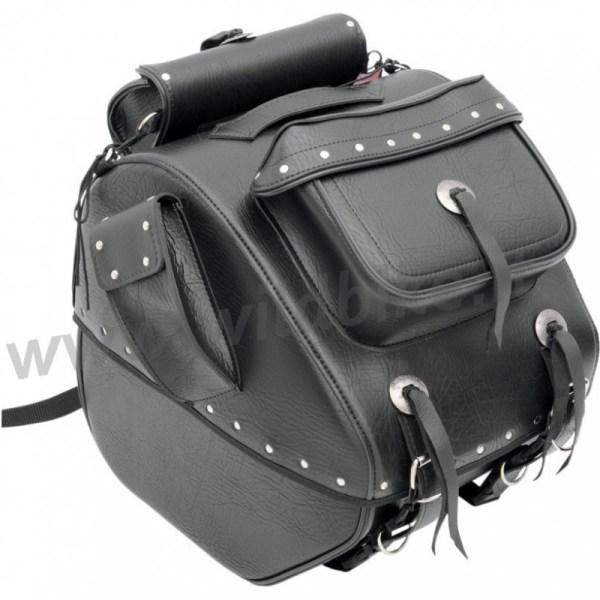 Trunk Bag Bc Sissy Bar Backrest Custom Motorcycle And