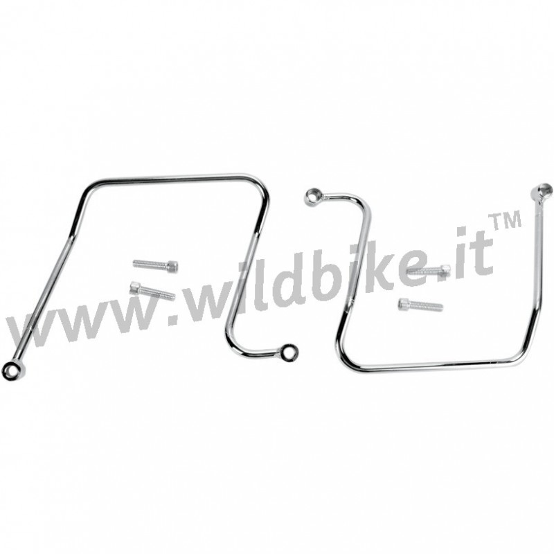 SADDLEBAGS SUPPORT for HARLEY FAT BOB FXDF FXDWG WIDE