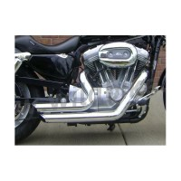 EXHAUST DRAG PIPES SHORTSHOTS HARLEY DAVIDSON XL SPORTSTER ...
