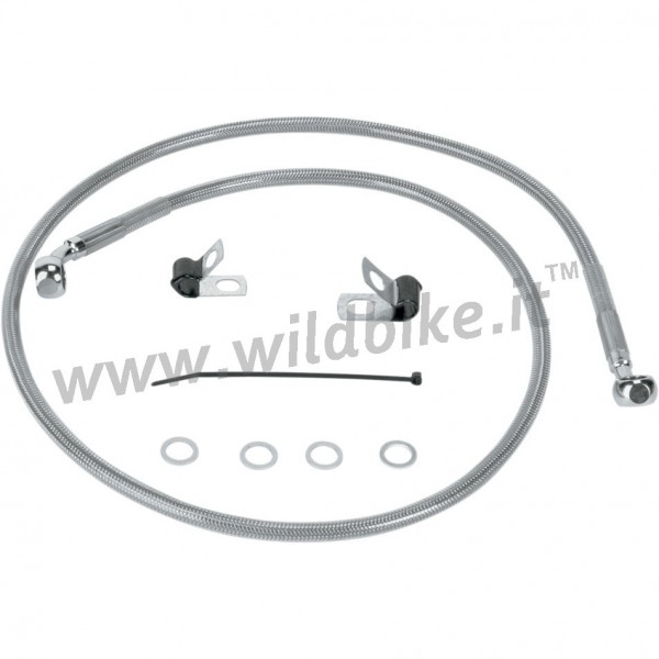 CABLE STANDARD STAINLESS STEEL LINE KITS FRONT BRAKE OEM