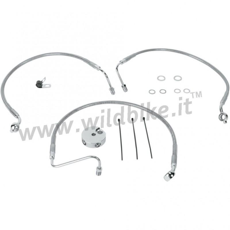 CABLE STANDARD ACIER INOX DE FREIN AVANT KITS 45409-04