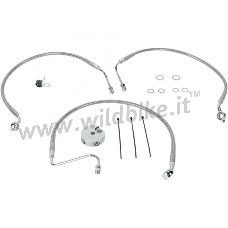 CABLE STANDARD STAINLESS STEEL LINE KITS FRONT BRAKE 45409