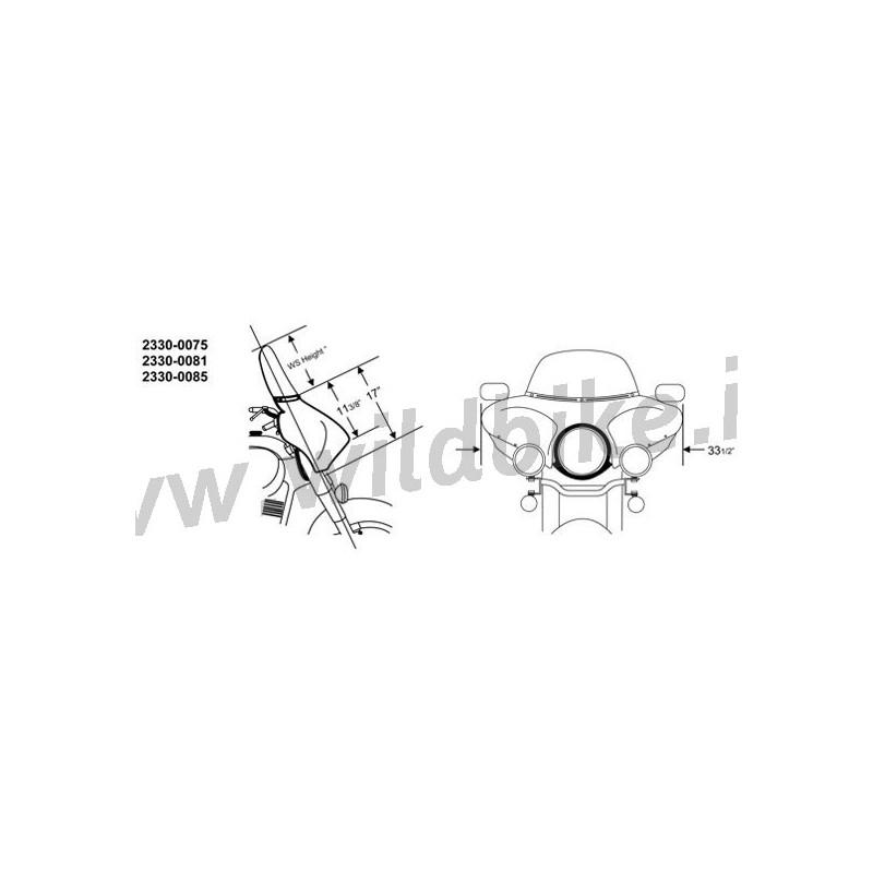 BATWING FAIRING CARÉNAGE PARE-BRISE HARLEY DAVIDSON XL