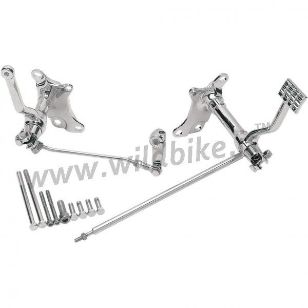 COMMANDES AVANCEES STANDARD CHROME POUR HARLEY DAVIDSON XL