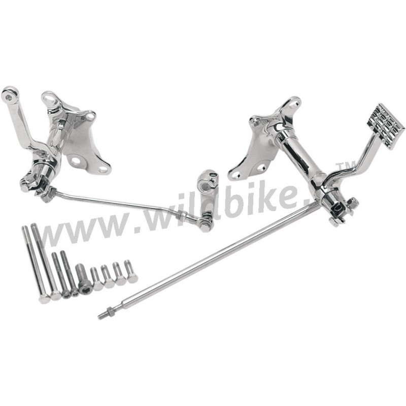 STANDARD FORWARD CONTROLS CHROME FOR HARLEY DAVIDSON XL