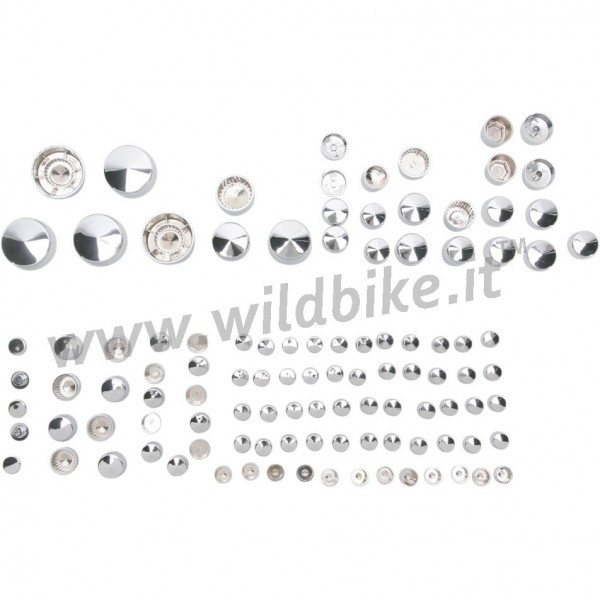 BOLT COVER KITS DE LUXE CHROME HARLEY DAVIDSON XL