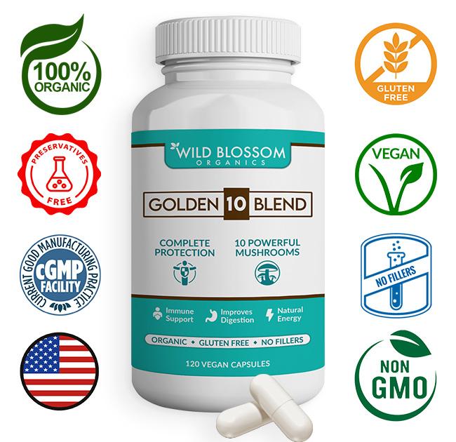 Organic, Vegan, Non-GMO, No Fillers