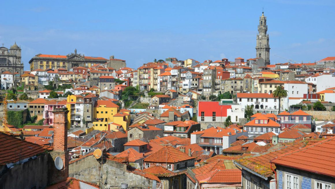 Visit Porto. Experience Stunning Views From The Clerigos Tower.