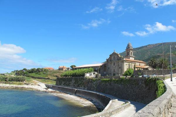 Buen Camino From The Coast Of The Espiritual Camino De Santiago.