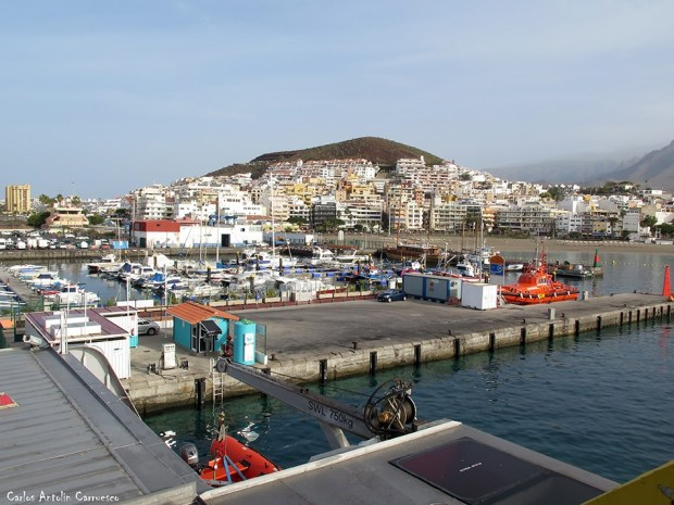 Puerto de Los Cristianos - Tenerife - los cristianos - chayofita