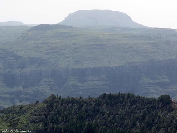 Arure - La Mérica - La Gomera - la fortaleza - chipude