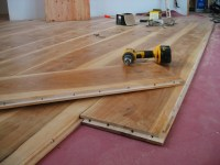 A Wide Plank Floor: from cutting trees to installation ...