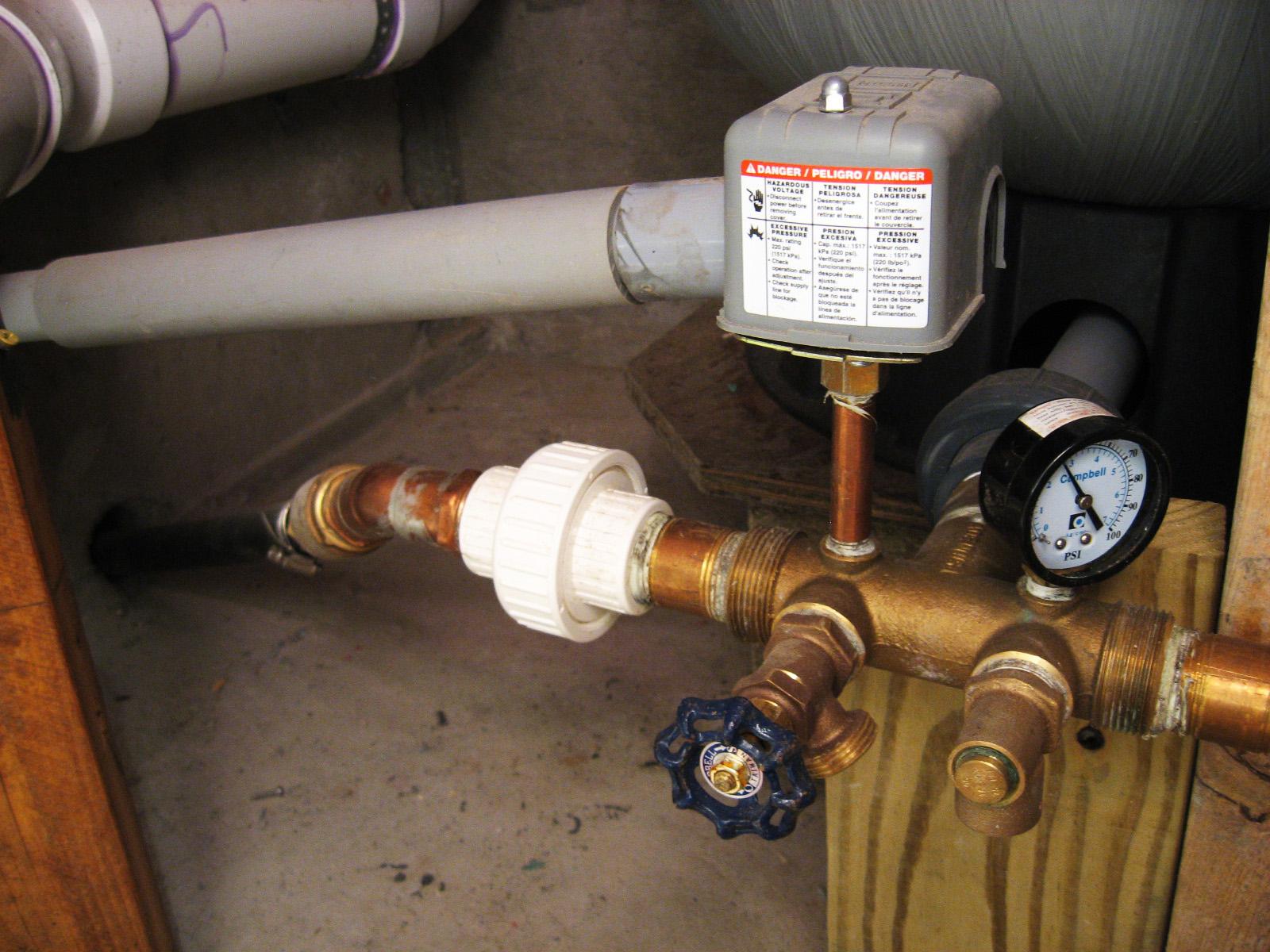 well pressure tank installation diagram vw passat ccm wiring switch conduit square d