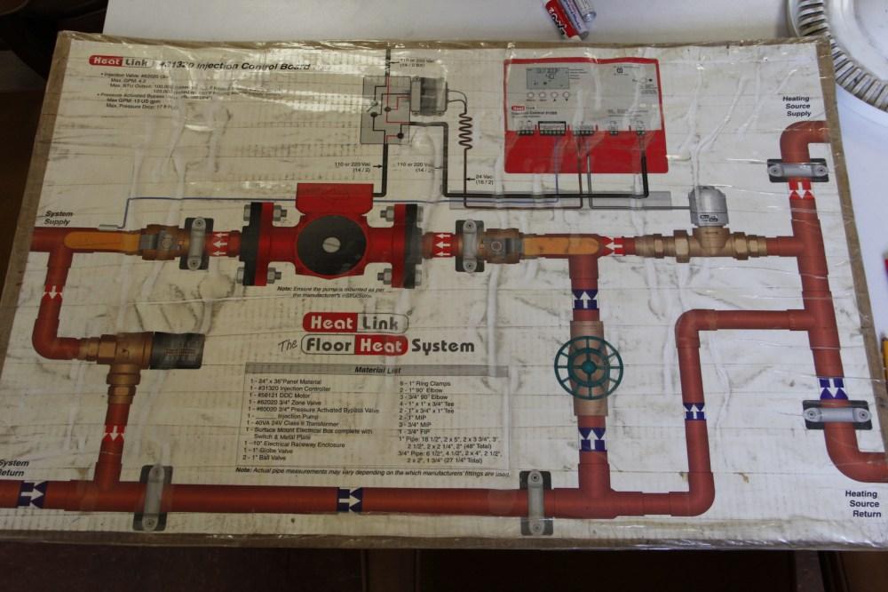 medium resolution of radiant floor heat mixing schematic by heatlink