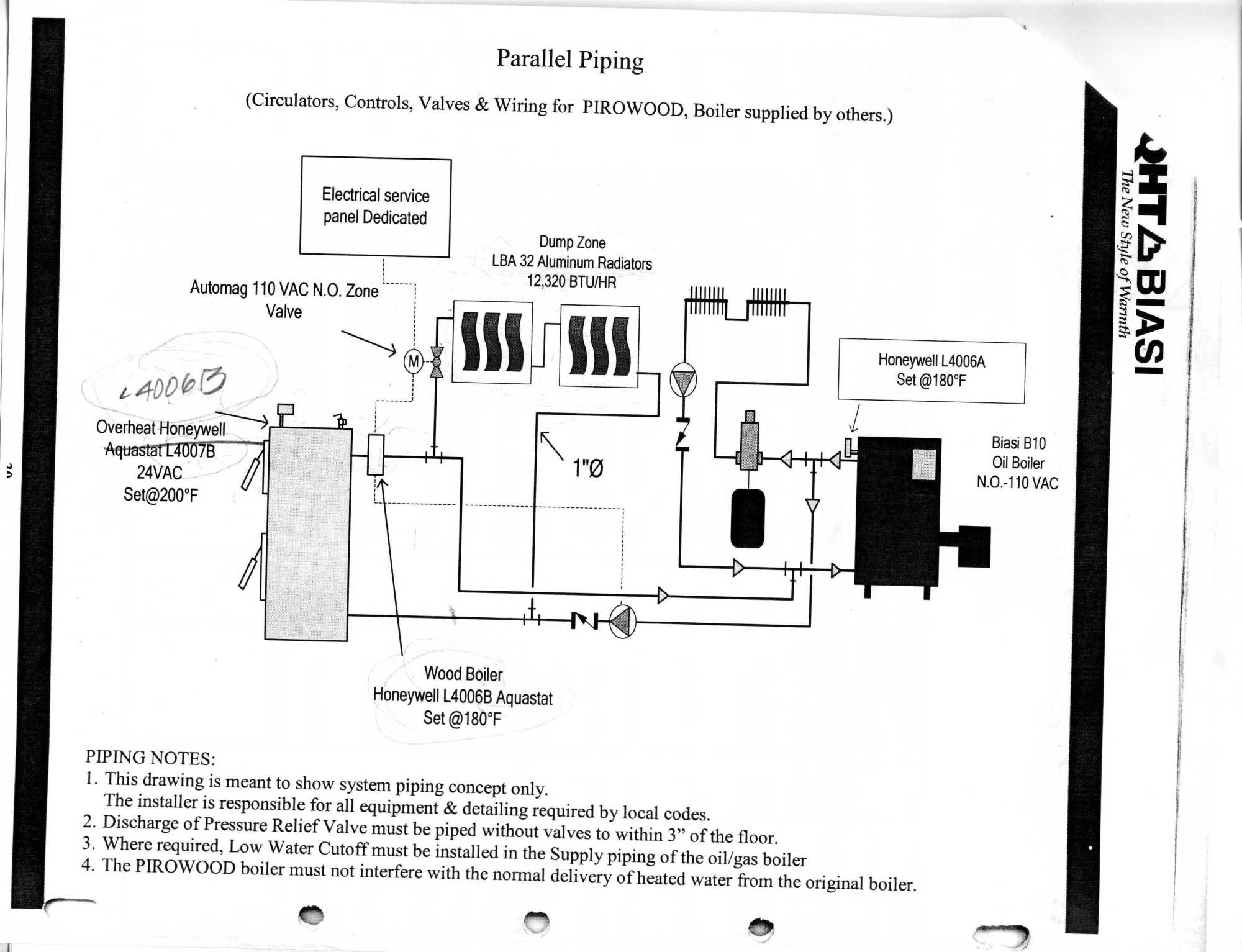 hight resolution of biasi wood boiler piping schematic