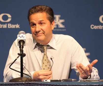 "Calipari:  ""Throw a rock in a pack of dogs, the one you hit yelps like heck..."""