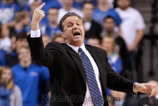 John Calipari - photo by Tammie Brown | WildcatWorld.com