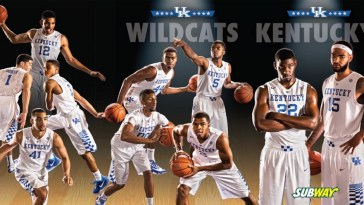 2014-2015 Kentucky Schedule Card