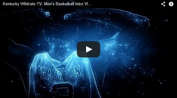This Kentucky player introduction video will give you goose bumps