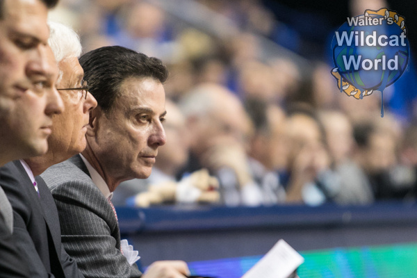 Rick Pitino - photo by Walter Cornett