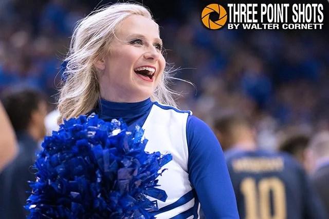 Kentucky Cheerleader - photo by Walter Cornett