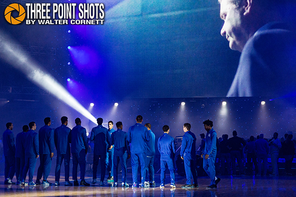 Big Blue Madness - photo by Walter Cornett