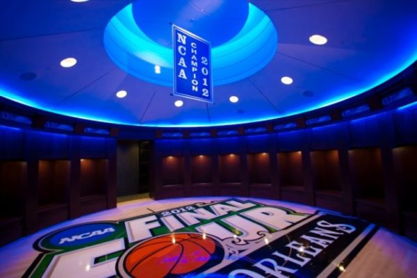 Kentucky Locker Room