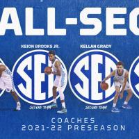 Four Kentucky Players Tabbed Coaches' Preseason All-SEC