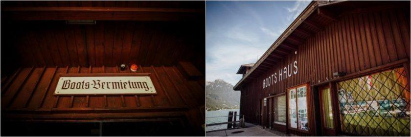 Boots Haus in Pertisau am Achensee