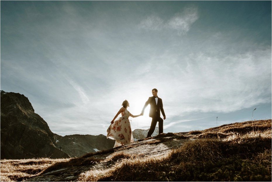 Norway elopement wedding inspiration by Wild Connections Photography