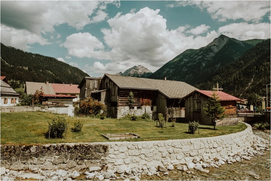 A rustic farmhouse building in Holzgau Austria Image by Wild Connections Photography