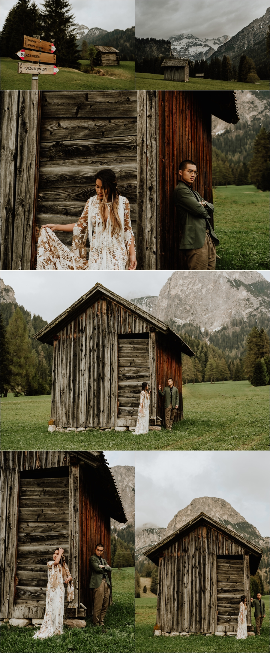 Mountain pastures in the Dolomites - An adventure pre-wedding shoot by Wild Connections Photography