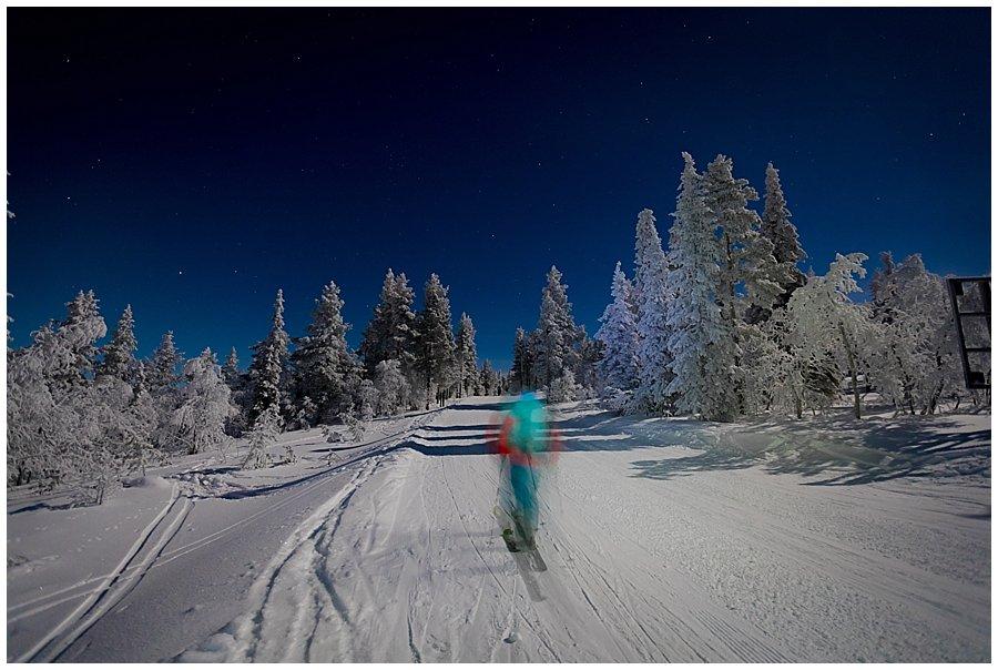Aurora Borealis Ski Tour Levi Lapland